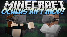 Minecraft | OCULUS RIFT MOD! (Virtual Reality Minecraft!) | Mod Showcase