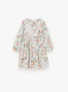 The latest dresses and jumpsuits for girls at ZARA online, with colorful prints or appliques. Kimono Style Dress, Kimono Fashion, Dresses Kids Girl, Girl Outfits, Dress Outfits, Crochet Jumpsuits, Overall Skirt, Jumpsuits For Girls, Jumpsuit Dress