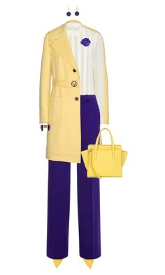 """""""Yellow for Endometriosis Awareness Month!"""" by ittie-kittie ❤ liked on Polyvore featuring Valentino, Yves Saint Laurent, Roland Mouret, Salvatore Ferragamo, BCBGeneration, Chanel, endometriosis and EndometriosisAwareness"""