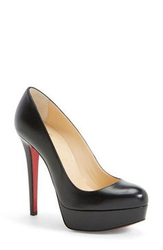 Christian Louboutin 'Bianca' Platform Pump available at #Nordstrom