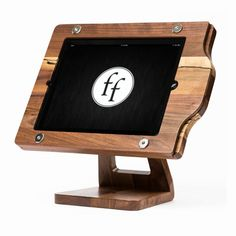 The Freeform Stand: a wood / wooden iPad by FreeformWoodworks