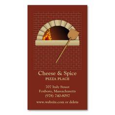Brick Bakery Business Card