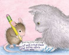 """""""Amanda and Maxwell"""" from House-Mouse Designs®"""