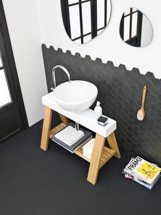 The.Artceram - Il Cavalletto 94, design Meneghello Paolelli Associati #bathroom #washbasin #furniture