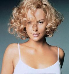 Short curly haircuts women