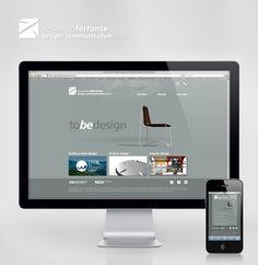 My new web site!  www.alessandroferrante.com Web Design, Graphic Design, Industrial Design, Studio, Interiors, Communication Design, Design Web, Study, Industrial By Design