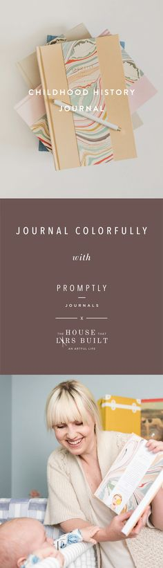 A prompted journal to help you keep track of all of life's most important moments. This journal will take you through Pregnancy to 18 years old with your little one. Journal Prompts, Journals, Making Memories, Family Love, New Moms, Pregnancy, Childhood, Track, Parenting