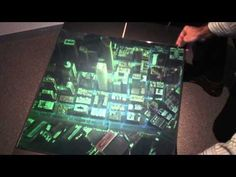 ▶ Downtown Seattle Zebra Imaging ZScape® 3D Holographic Print