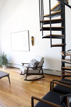 Oliver and Sherrie's 525 Square Foot Vintage Modern Bronx Loft