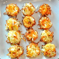 individual hash brown cups recipe Can be made ahead up to point of baking. Cover w/ plastic wrap and refrigerate. Set out 30 min before baking.