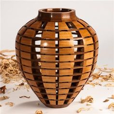 Jack Morrison's segmented wooden vase is an elegant play of negative and positive space and form. Description from zfolio.com. I searched for this on bing.com/images