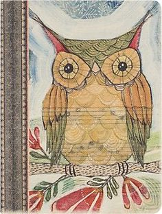 Wise Owl Notebook