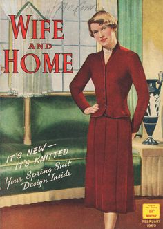 Wife and Home Magazine February 1950 www.vintagetreasure.co.nz