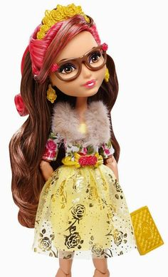 Ever After High Rosabella Beauty I'm guessing daughter of beauty and the beast