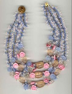 Miriam Haskell necklace 7