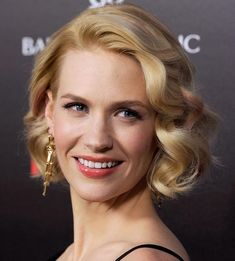 Top 50 Bob Hairstyles for Women: January Jones   #bobhair #shorthairstyles #hairstyles