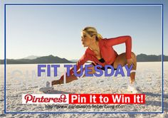 Ready to get #fit? This is your chance to win a powerful #workout plan that will guide you through the next 30 days to a new and improved physique! Just Pin It to Win It and leave a comment so I know who you are on Tuesday May 1 when the winner is announced!