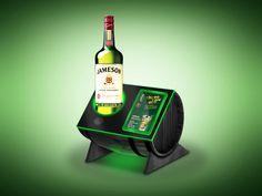 Material de Ponto de Dose Pernod Ricard on Behance