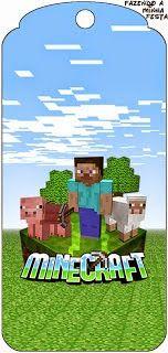 Minecraft: Invitaciones para Imprimir Gratis. | Ideas y material gratis para…