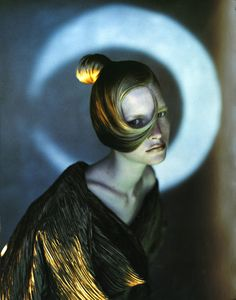 Javier Vallhonrat - Photographers - Beauty - 1991 Luna Aldo Coppola L Oreal | Michele Filomeno