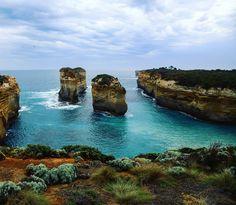 Great Ocean Road #australia #roadtrip #ontheroad #intothewild #greatoceanroad #apollobay #melbourne #victoria #greataustralianbight #coast #rocks #travel #explore #adventure #free #wander #freedom #wanderlust #focus #photography #5D #canon #view #life #paradise #amazing #ocean by stephlee024