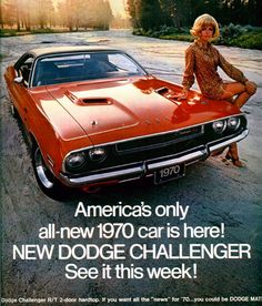 Dodge Challenger  http://pinterest.com/jr88rules/mopar-muscle/