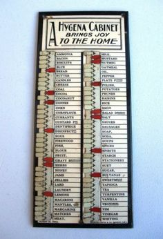 Household Wants Indicator Board by Charls Letts & Co London, S.E.1. | eBay as used in Downtown Abbey --- I want one :)