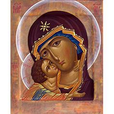Icon of the Mother of God and Christ Religious Pictures, Religious Icons, Religious Art, Byzantine Icons, Byzantine Art, Mama Mary, Russian Icons, Blessed Mother Mary, Madonna And Child