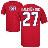 ecf5874f4 Montreal Canadiens Brendan Gallagher Reebok NHL Player Name  amp  Number  T-Shirt Nhl Apparel