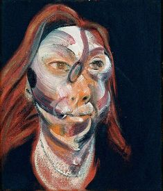 Francis Bacon (1909–1992), Three Studies for a Portrait of Isabel Rawsthorne (panel 1 of 3), 1965, oil on canvas, 35.6 x 30.5 cm, gift from Robert and Lisa Sainsbury. Part of the Robert & Lisa Sainsbury Collection, UEA 37, Sainsbury Centre for Visual Arts, University of East Anglia © the estate of Francis Bacon. All rights reserved. DACS 2017. Photo credit: Robert and Lisa Sainsbury Collection, Sainsbury Centre for Visual Arts, University of East Anglia