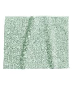 Luxury Cotton Bath Rug x Bath Shower Mat Rug (Light Aqua) Bath Mat