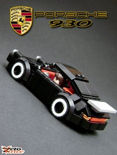 Porsche 930: A LEGO® creation by Zeto Vince : MOCpages.com