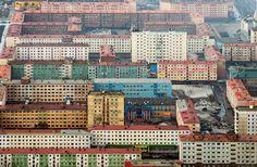 "Norilsk, Russia. more brutalist apartment complexes. Insert obligatory ""In Soviet Russia"" meme. [1000 x 653]"