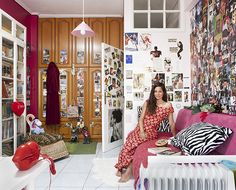 An interesting look at single women's bedrooms all over the world.