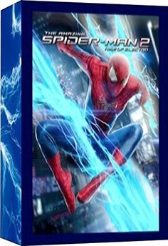 The Amazing Spiderman 2 (Light Box The Amazing Spiderman 2, Packing Light, Home Entertainment, Entertaining, 3d, Movie Posters, Blue Prints, Film Poster, Pack A Suitcase