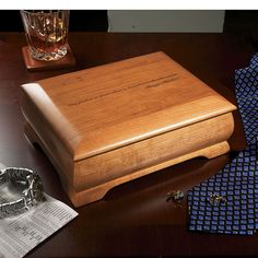wooden keepsake box for men - Google Search