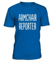 """# Armchair Reporter Fantasy Owner T-Shirt .  Special Offer, not available in shops      Comes in a variety of styles and colours      Buy yours now before it is too late!      Secured payment via Visa / Mastercard / Amex / PayPal      How to place an order            Choose the model from the drop-down menu      Click on """"Buy it now""""      Choose the size and the quantity      Add your delivery address and bank details      And that's it!      Tags: This t-shirt is the perfect gift or special…"""