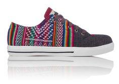 Inkkas Shoes - Handmade in South America - Slate Low Top