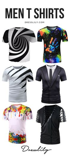 c9ff7ebb5 UP TO 50% OFF!Casual T Shirts for Men - Buy new arrivals & latest Casual T  Shirts for Men from Dresslily.com.FREE SHIPPING WORLDWIDE!#men