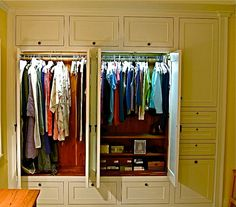 Custom Made Custom Built In His U0026 Hers Closets