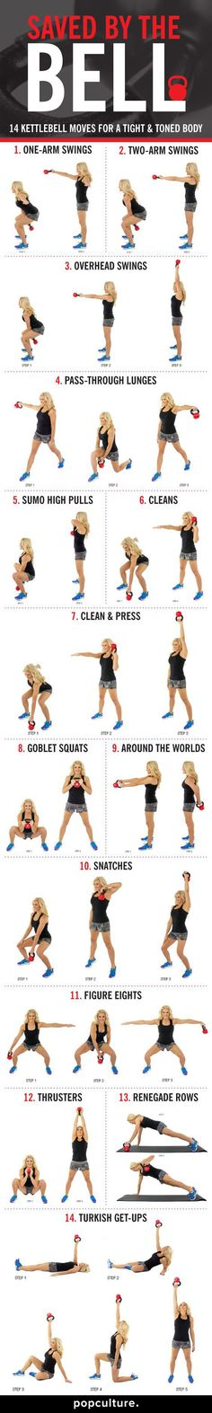 Kettlebell-moves