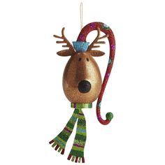 Oh What Fun: Pier 1 Jolly Reindeer Ornament