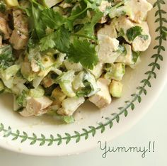 Creamy Citrus Chicken Salad and My Extreme Diet - girl. Inspired.