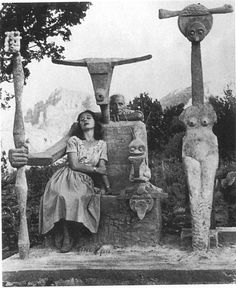 Max Ernst and Dorothea Tanning in Sedona by John Kasentzis