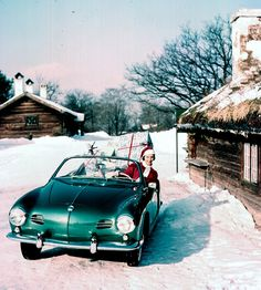 Karmann Ghia at Christmas