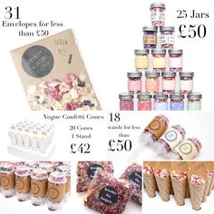 All these great confetti choices for under Your confetti moment doesn't have to cost the earth to create but you will regret it if you don't do it! Confetti Poppers, Confetti Cones, Classic Wedding Themes, Our Wedding, Wedding Ideas, Wedding Confetti, Biodegradable Products, Big Day, Sprinkles