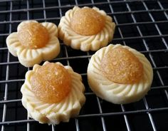 Mini Pineapple Tarts With Different Shape