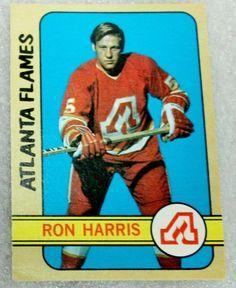 O PEE CHEE 1972-73 RON HARRIS CARD! FLAMES -vg-NM #AtlantaFlames
