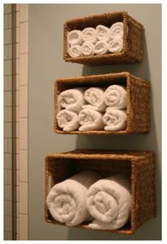 maybe a good idea for all the different sizes of baby blankets in the baby's room