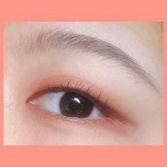 Cute Eye Makeup, Daily Makeup, Beauty Makeup, Makeup Looks, Face Makeup, Asian Makeup Monolid, Monolid Eyes, Makeup Korean Style, Korean Makeup Tips